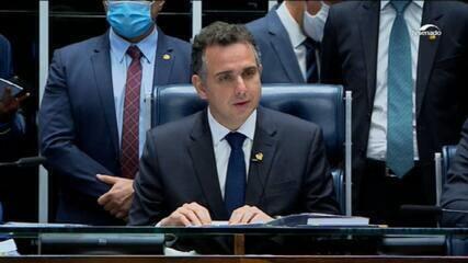 'Não existem mais divisões', diz Rodrigo Pacheco ao ser eleito presidente do Senado