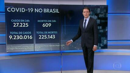 Brasil passa de 225 mil mortes pela Covid