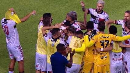 Os gols de Sport 0 x 3 Flamengo pela 33ª rodada do Brasileirão 2020