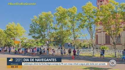 Carreata em homenagem a Nossa Senhora dos Navegantes acontece às 10h30 em Porto Alegre