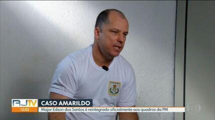 Major condenado por tortura e morte de Amarildo é reintegrado à PM