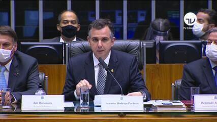 'Nenhum extremo nos interessa', diz presidente do Senado, Rodrigo Pacheco