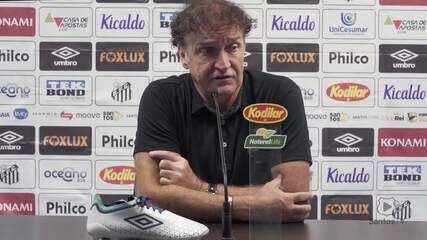 Cuca garante que não quis fazer cera no lance em que foi expulso contra o Palmeiras