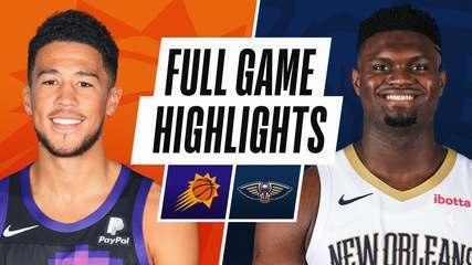 Melhores momentos: New Orleans Pelicans 123 x 101 Phoenix Suns pela NBA