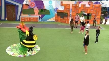 Gilberto e Lucas Penteado cumprem o Castigo do Monstro no BBB21
