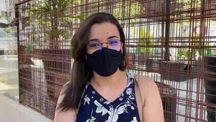Candidata elogia aplicação das provas do Enem digital no Recife