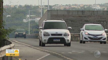 Farol desligado em carros gerou mais de 40 mil multas em rodovias federais que cortam a BA