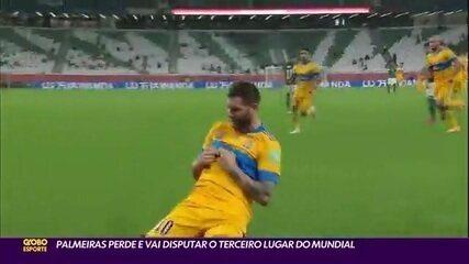 Gignac fez o gol do Tigres-MEX na vitória sobre o Palmeiras no Mundial de Clubes