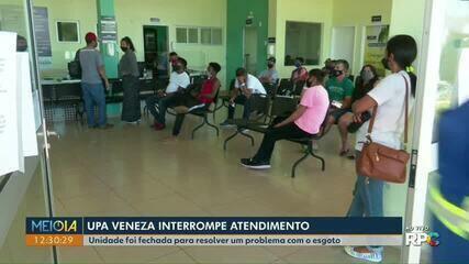 UPA Veneza interrompe atendimento