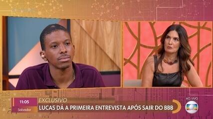 Lucas Penteado se recusa a opinar sobre Projota e Karol Conká