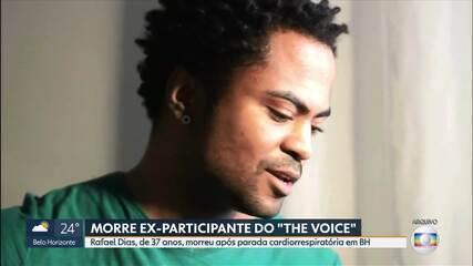 Morre em BH o cantor Rafael Dias, ex-participante do The Voice Brasil