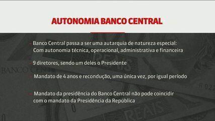 Câmara começa análise do texto que prevê autonomia do Banco Central