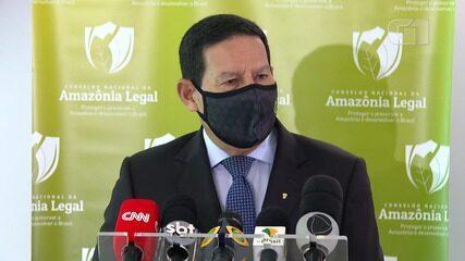 70% dos crimes ambientais 'ocorrem em 11 municípios', diz Mourão