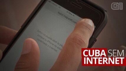 Cuba tem apagão nos serviços de telefone e internet
