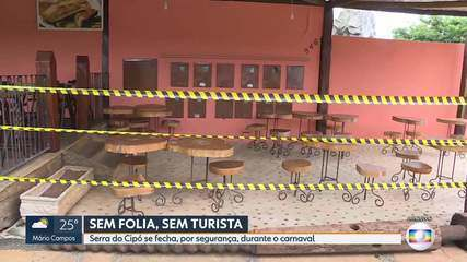 Santana do Riacho controla acesso à Serra do Cipó durante os próximos dias