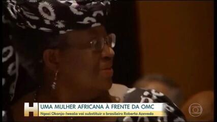 Uma mulher assume pela primeira vez a direção da Organização Mundial do Comércio