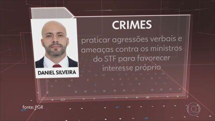 PGR denuncia Daniel da Silveira ao STF