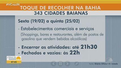 Covid-19: veja como funciona as regras do toque de recolher em Salvador e municípios da BA