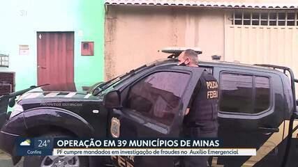 PF faz operação contra fraudes no pagamento do auxílio emergencial em Minas