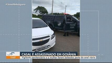 Vigilante penitenciário e esposa são mortos a tiros na saída do Complexo Prisional