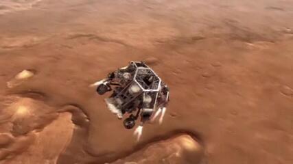 Especialista explica processo de pouso do robô da Nasa em Marte