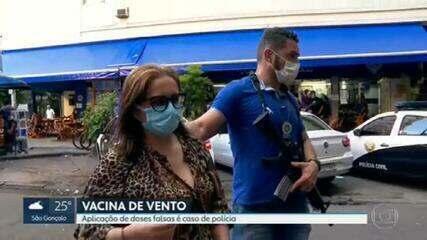 Mais uma técnica em enfermagem foi parar na delegacia, suspeita de aplicar a vacina de vento.