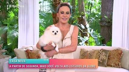 Ana Maria Braga faz o último 'Mais Você' em casa