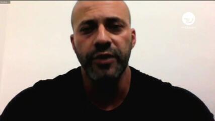 Deputado Daniel Silveira (PSL-RJ) faz pronunciamento virtualmente da prisão onde se encontra, no Rio