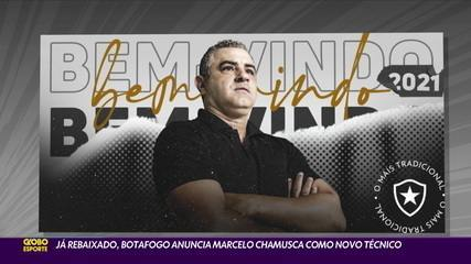 Já rebaixado, Botafogo anuncia Marcelo Chamusca como novo técnico