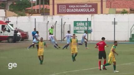 O gol de Parnahyba 1 x 0 Picos pela primeira rodada do Campeonato Piauiense