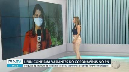 UFRN confirma variantes do Coronavírus no RN