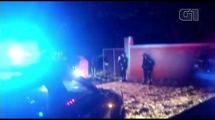 Vídeo mostra saída de carros em festa com cerca de 400 pessoas em Valinhos