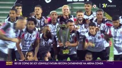Veja os gols de Chapecoense 1 (3) x (5) 1 Joinville pela Recopa Catarinense