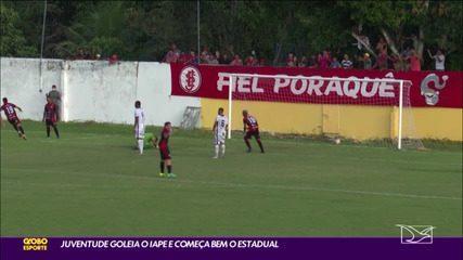 Juventude-MA 3 x 0 Iape pela #1 rodada do Campeonato Maranhense 2021