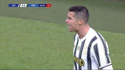 Os gols de Juventus 3 x 0 Crotone, pela 23ª rodada do Campeonato Italiano