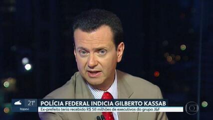Polícia Federal indicia ex-prefeito de São Paulo Gilberto Kassab