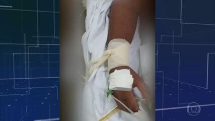 Pacientes com Covid são amarrados a macas no Amazonas por falta de sedativo