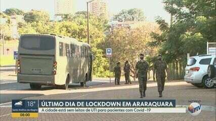 Araraquara segue sem leitos de UTI para Covid-19 no último dia de lockdown