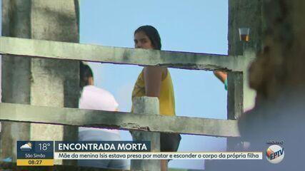Mãe da menina Ísis Helena é encontrada morta em cela da penitenciária de Tremembé
