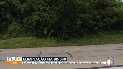 Audiência discutiu saída de concessionária da BR-040 em Petrópolis a partir da próxima segunda