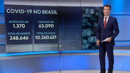 Veja os últimos números da vacinação e da pandemia atualizados hoje (23/02) pelo consócio de veículos de imprensa