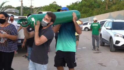A explosão da crise da falta de oxigênio e as consequências do descontrole da pandemia em Manaus
