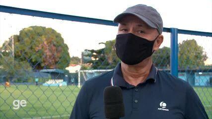 Afastado, Paulo Júnior fala sobre desempenho do Tiradentes-PI e detalha conversa com a diretoria do clube