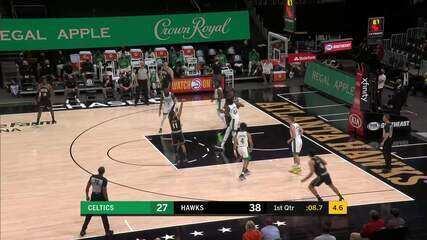 Melhores momentos: Atlanta Hawks 127 x 112 Boston Celtics pela NBA