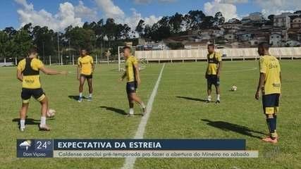 Caldense conclui pré-temporada para fazer abertura do Mineiro no próximo sábado (28)
