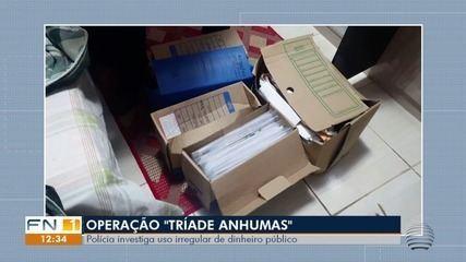 Operação Tríade investiga uso irregular do dinheiro público em Anhumas