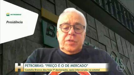 """""""Preço dos combustíveis é o preço de mercado"""", segundo presidente da Petrobras"""