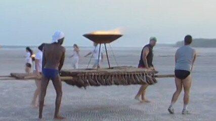 Kit fogo era o prêmio da prova do 'No Limite - Fase Metal (2001)'