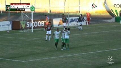 Veja os gols de Concórdia 0 x 2 Chapecoense pela primeira rodada do Catarinense