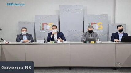 Governo do RS suspende sistema de cogestão por nove dias